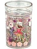 Flower Fairies Pink Glitter Shaker Beaker/Cup Gift