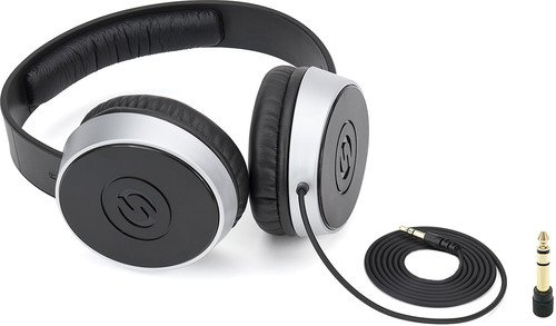 Samson SR Over-the-Ear Headphones Silver, Black SASR550