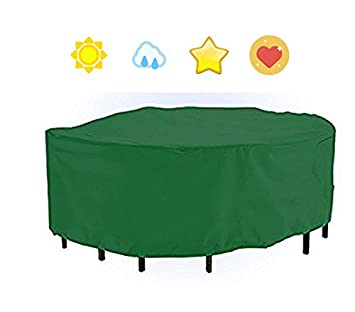 premium heavy duty waterproof round table chairs protection garden