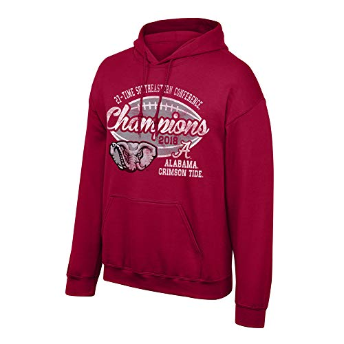 - Elite Fan Shop Alabama Crimson Tide SEC Champs Hooded Sweatshirt 2018 Vintage - L