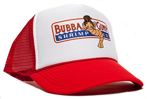 New Curved Bill Bubba Gump Shrimp CO Hat Cap Forrest Gump Costume Baseball