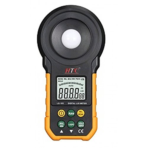 HTC Instrument LX-103 Light Meter Luxmeter, Measures Up-To 2,00,000 LUX/20,000 FC by Supreme Traders Supertronics1989 Price & Reviews