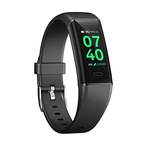 YEZIJIN MK05 Smart Watch Sports Fitness Activity Heart Rate Tracker Blood Pressure Watch Under 20 Dollars