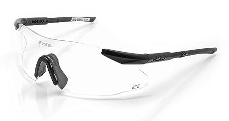 ESS Eyewear Ice 3LS Eyeshield kit, nero