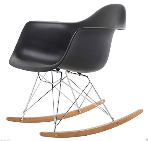 Awe Inspiring Costello Eiffel Retro Rocking Rocker Lounge Leisure Chair Pabps2019 Chair Design Images Pabps2019Com