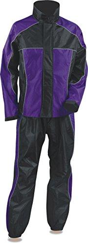 - NexGen Women's Rain Suit (Black/Purple, XX-Large)