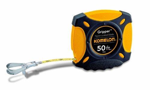 Komelon 9905 Gripper Closed Case Long Steel Tape Measure, 50-Feet by Komelon