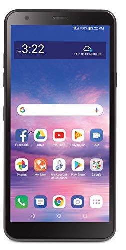 Net10 LG Journey 4G LTE Prepaid Smartphone (Locked) – Black – 16GB – Sim Card Included – CDMA