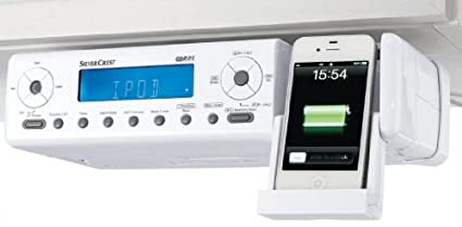 Silvercrest Under Cabinet Kitchen Fm Radio With Ipod Connection