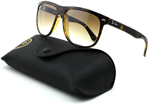 Ray-Ban RB4147 Unisex Square Sunglasses (Light Havana Frame/Crystal Brown Gradient Lens 710/51, ()