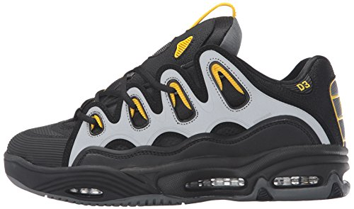 Osiris D3 black/yellow/charcoal (40 (cm25,5))