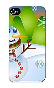 Carpalv Scratch-free Phone Case For Iphone 5/5s- Retail Packaging - Navidad 2009 Cartoon Fondo De Pantalla