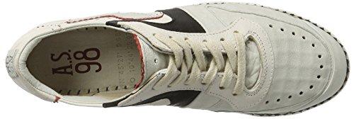 A.S.98 Damen Similar Sneaker Weiß (Artic/Artic/Nero/Fire/Bianco)