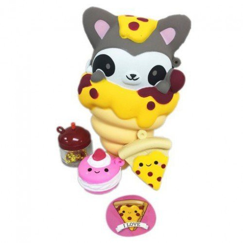 Smooshy Mushy Bentos Box Collectible Figure NEW Italian Raccoon Redwood SG/_B078JY79HD/_US