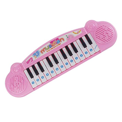 Musical Piano Instrument de musique Education Toy Rose For Kids