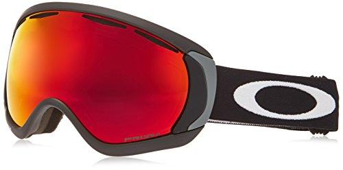 Oakley OO7047-43 Canopy Eyewear, Matte Black, Prizm Torch Iridium Lens