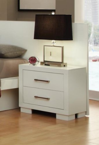 Jessica 2 Drawer Nightstand by Coaster Furniture by Coaster Home Furnishings