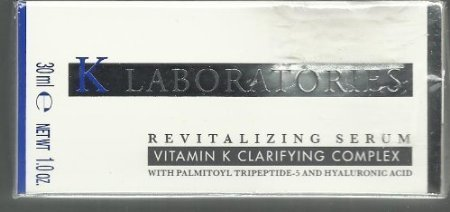 K Laboratories Revitalizing Serum Vitamin K Clarifying Complex 1.0oz