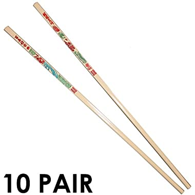 Melamine Chopsticks, 10 Pairs, Dragon Design