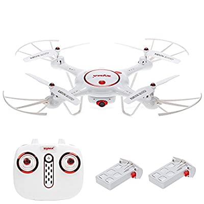 Syma X5UC RC Drone with HD Camera 2.4Ghz RC Quadcopter with Altitude Hold and One Key Take off and Landing from Cheerwing