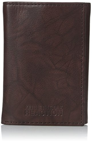 Kenneth Cole REACTION Men's Philmore Trifold Wallet, Brown