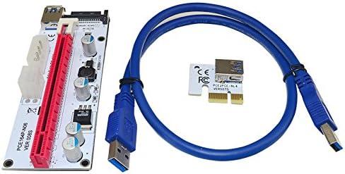 ithoo 60 cm USB 3.0 PCIE azul cable de extensión de 1 x A 16 x ...