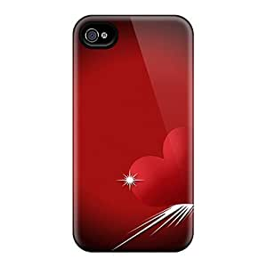 Special Collmith Skin Case Cover For Iphone 4/4s, Popular Love Comes Phone Case