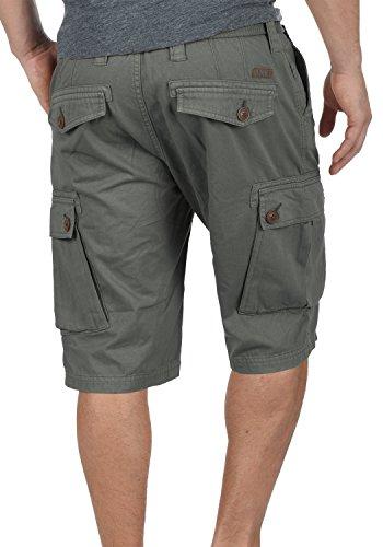 Grey Cortos solid Bermudas De Cargo Para 2890 Cinturón fit Algodón 100 Con Hombres Pantalones Regular Valongo Dark Pantalón rHqFXwar