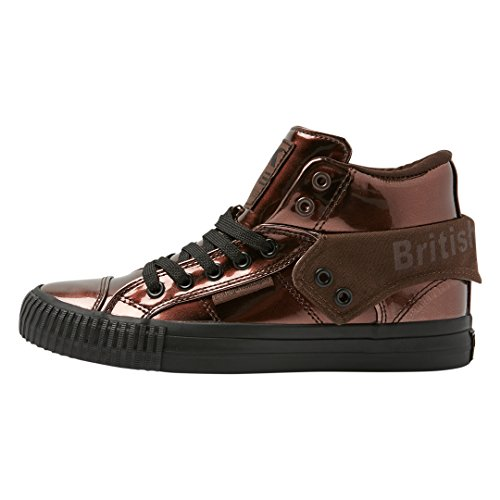 British Knights WoMen Roco High-Top Trainers Bronze/Black