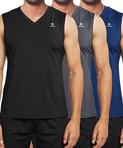 TELALEO Performance Sleeveless Workout Bodybuilding product image