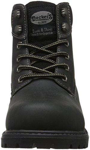Casa Estar 19pa240 400 Schwarz por Negro by Mujer para Gerli Dockers Zapatillas de USqYg8RRxw