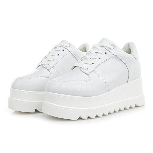 schuhe weiße neue schuhe frauen SDKIR britischen weiße alle korea plateauschuhe weibliche weißen dicke mit Oqwpfxvat6