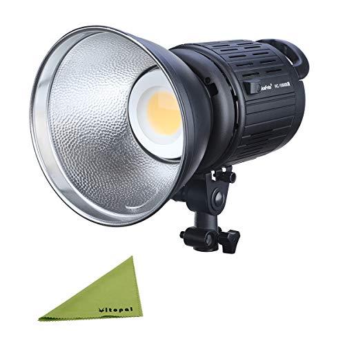 (NiceFoto HC-1000B II 100W COB Daylight LED Video Light with Bowens Mount Continuous Light)