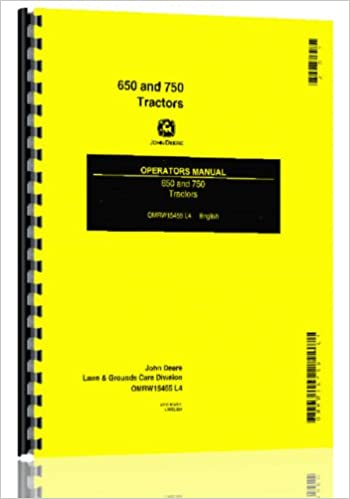 Amazon john deere 650 750 compact diesel utility tractor ops amazon john deere 650 750 compact diesel utility tractor ops manual books fandeluxe Image collections
