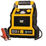 All Metal Powder Coated Clamps CAT 1000 Peak Amp Battery Jump-starter | Power Station | Compressor