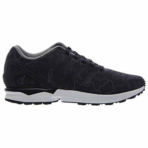 Adidas Mens Zx Flusso Nero / Bianco Aq4902 Cblack / Cblack / Ftwwht