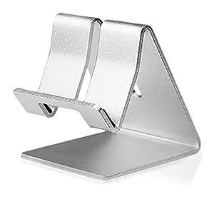 "Slabo Soporte Teléfono Móvil para iPhone 6S / iPhone SE Móvil Smartphone ""Soporte de Aluminio"" - PLATA"