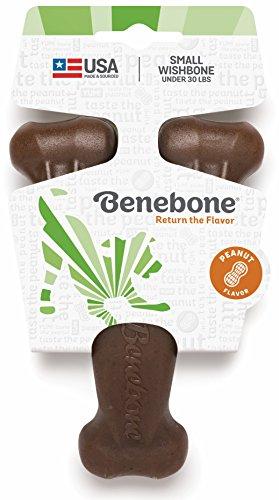 Benebone Mini Peanut Butter Flavored Wishbone Chew Toy