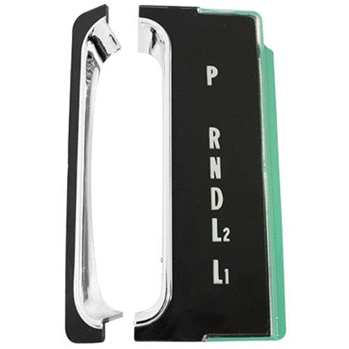 Trim Parts 2443 Full Size Console Indicator Shift Plate (1965 Chevrolet Turbohydromatic)