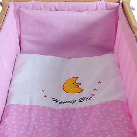 Honey Bee – Completa mecedora, cama, cuna para bebés - rosa - 51365-03