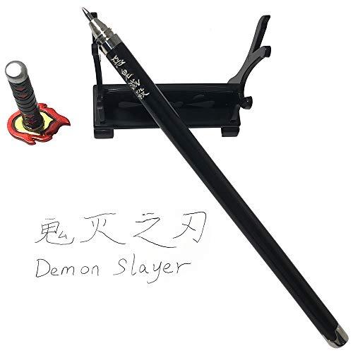 Demon Slayer: Kimetsu no Yaiba Kamado Tanjirou Sword Katana Knife Signature Pen Toys Action Figures Game Collection Party Supplies Gift Sword Metal Arts Collections (Kamado Tanjirou 3)