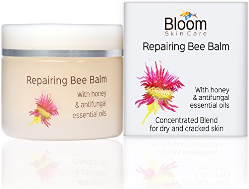 Bloom Skin Care Repairing Bee Balm 1.69oz- Intense Cream for Cracked Skin- Relief for Cracking Hands and Feet- Hand and Foot lotion for Dry and Sensitive Skin- Moisturizer for those Rough Dried Heels