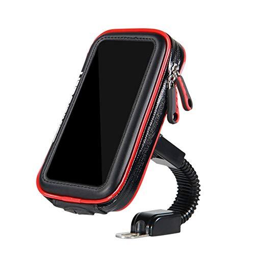 BFHCVDF Support de Sac de t/él/éphone de Moto de Scooter de v/élo de Support de t/él/éphone Portable pour Smartphones Noir L