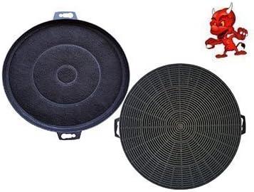 Set ahorro 2 Filtro de carbono activo filtro Filtro de carbón para Campana extractora campana extractora BSH - grupo 353121 / 00353121: Amazon.es: Grandes electrodomésticos