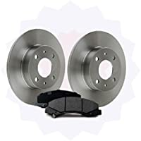 Discovery 2 TD5 Rear Brake Discs 98-04 - D2RRBRAKES MINTEX Brake Pad Kit