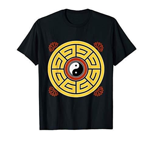 I Ching Feng Shui Taoist Mandala Amulet Antique Chinese T-Shirt