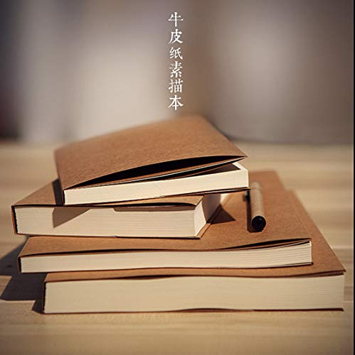 16K Retro Sketch Paper Blank Book Sketch Drawing Notebook Style