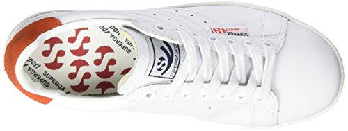 white Efglu R Femme Blanc 4832 N Baskets Wei red W S901 navy Superga gqUwa