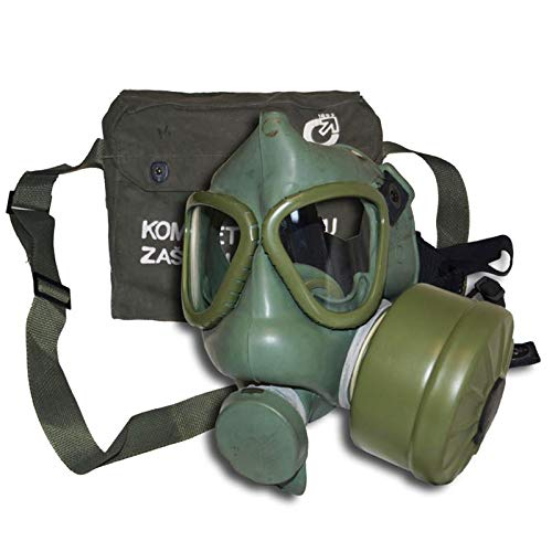 Serbian Issued Gas Mask with Filter and Bag