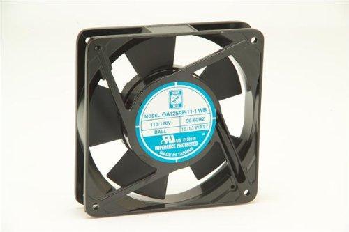 Term 220VAC Fan Ball 81CFM ORION FANS OA125AP-22-1TB OA125AP221TB 120X25M